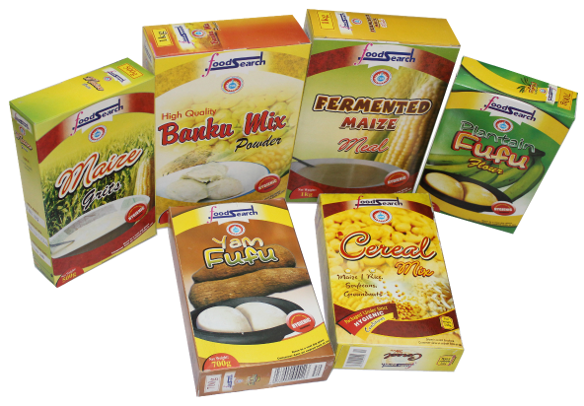 Assorted Research by-product of the CSIR-Food Research Institute, Ghana